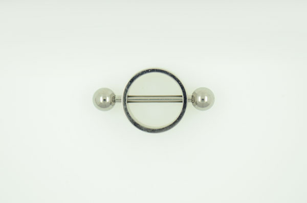 Nipple barbell with pendant (BW1061)